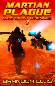 Martian Plague Book Cover