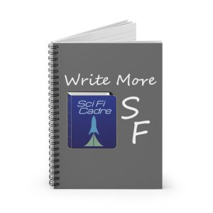 Write More SF Spiral Notebook – Ruled Line