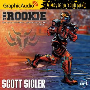 Galactic Football League 1 The Rookie Cover