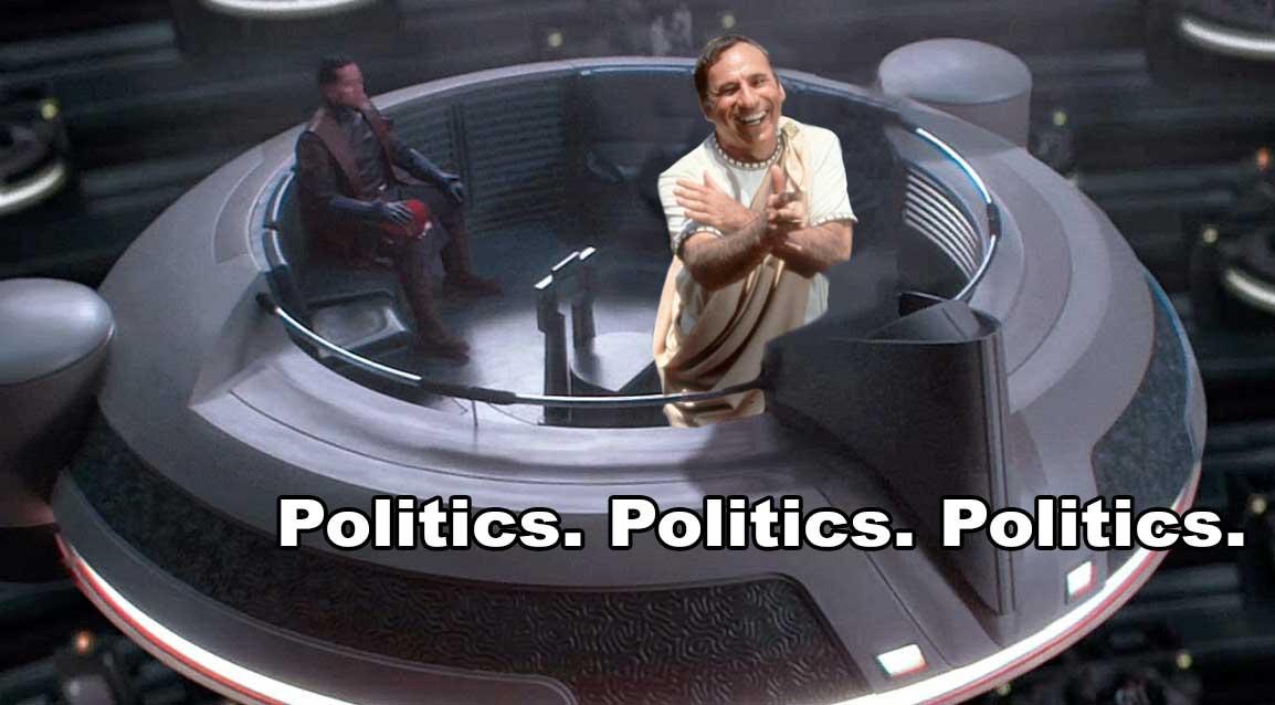 Keep Politics in Star Wars