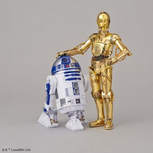 Bandai Star Wars 1/12 C-3PO & R2-D2 Model Kit