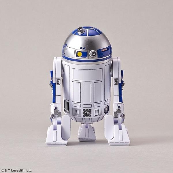 Star Wars 1/12 C-3PO & R2-D2 Model Kit - R2D2