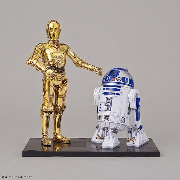 Star Wars 1/12 C-3PO & R2-D2 Model Kit