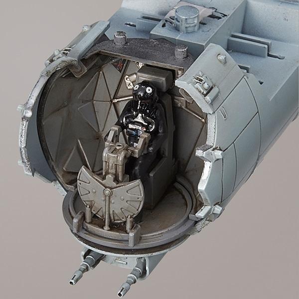 Tie Striker Vehicle Rogue One 1/72 Model Kit Cockpit