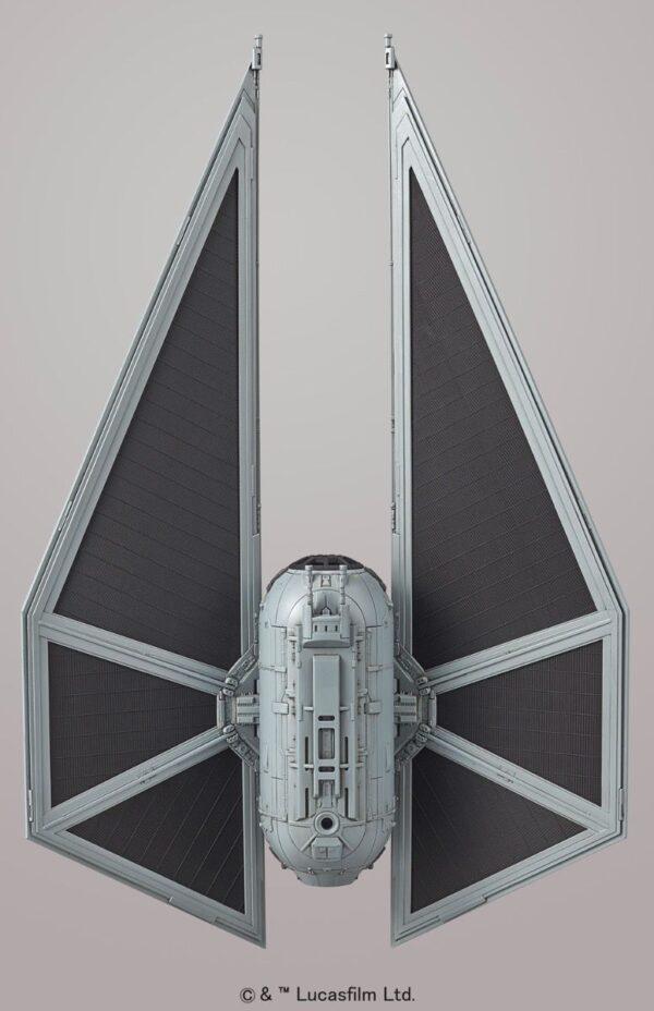 Tie Striker Vehicle Rogue One 1/72 Model Kit Top View