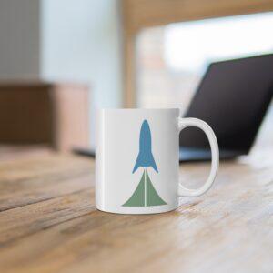 Sci Fi Cadre Logo Ceramic Mug 11oz