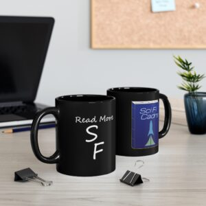 Read More SF 11oz Black Mug
