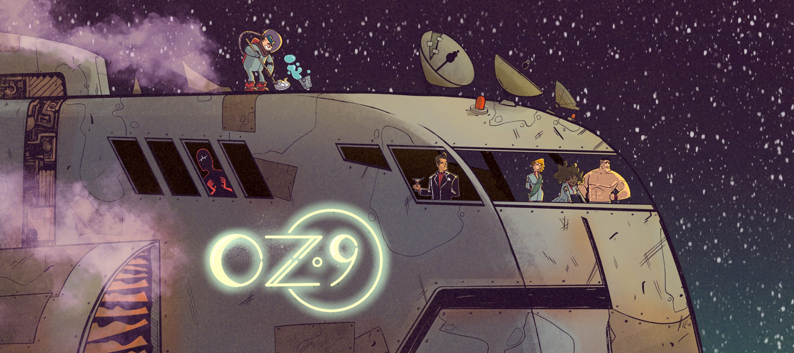 Oz 9 Podcast is Launching a Comic!